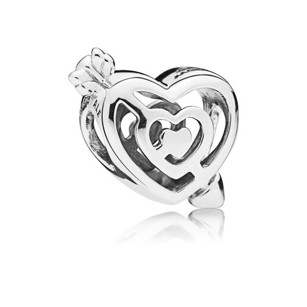 Element Path to Love - Labyrinth und Pfeil Herz