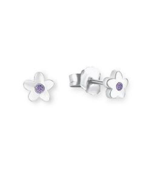Paar Ohrstecker Blume