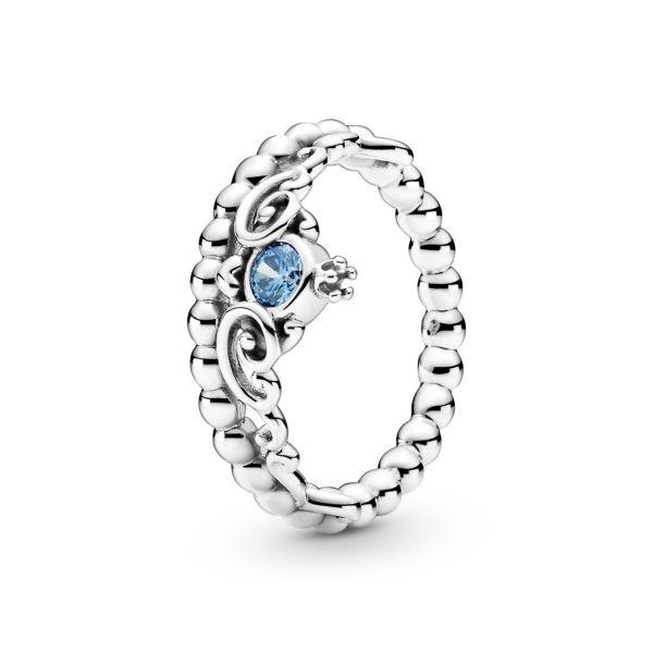 Ring Disney Cinderella Blaue Tiara