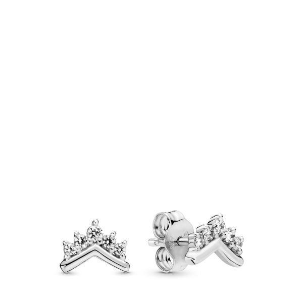 Paar Ohrstecker Tiara Wishbone