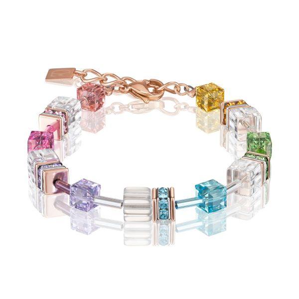 Armband multicolor-kristall