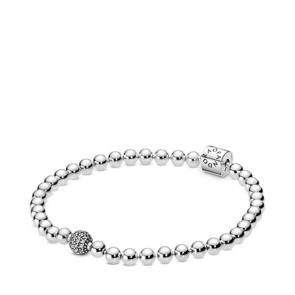 Armband Beads & Pavé