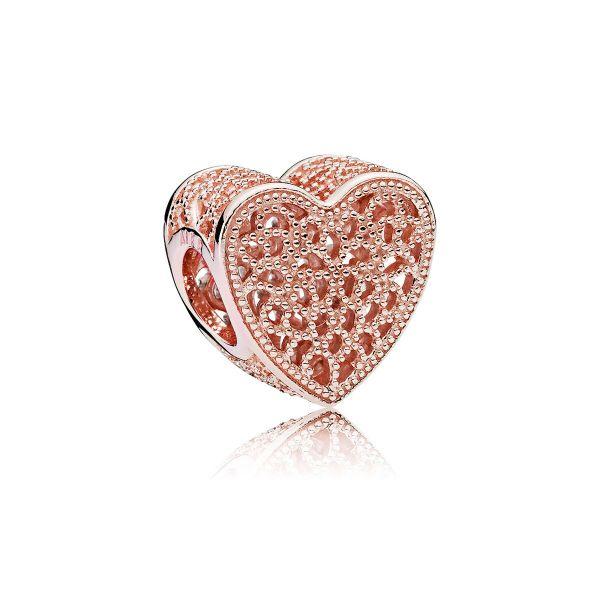 Element Filigree & Beaded Heart - Ewige Liebe