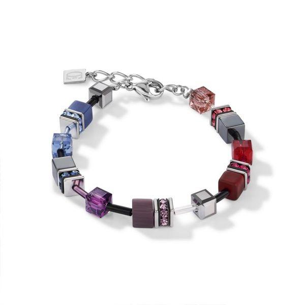 Armband GeoCUBE® multicolor art nouveau