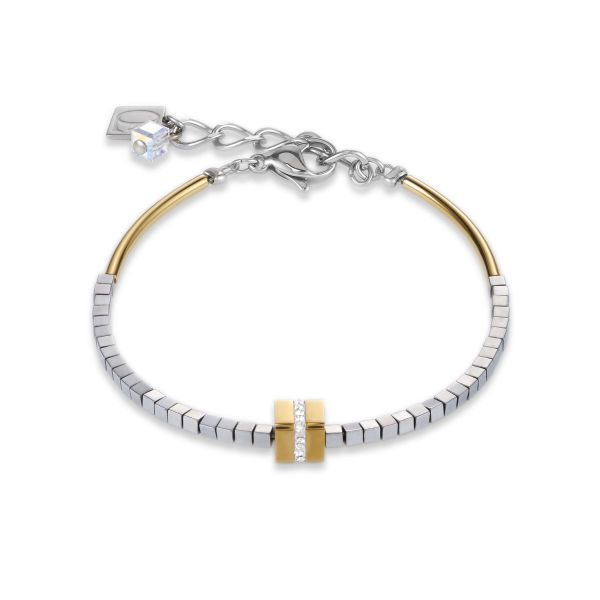 Armband gold-silber