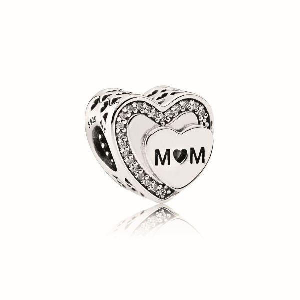 Element Tribute to Mom - Funkelndes Mum-Herz