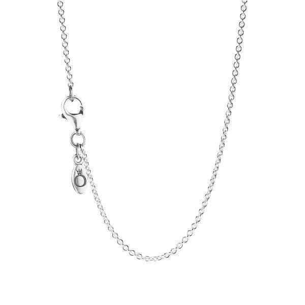 Collierkettchen Classic Cable Chain - Silberkette