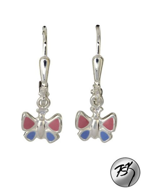Paar Ohrhänger Schmetterling