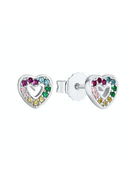 Paar Ohrstecker Herz
