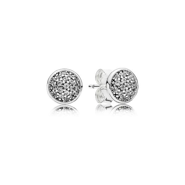 Paar Ohrstecker Dazzling Droplets - Glänzende Tröpfchen