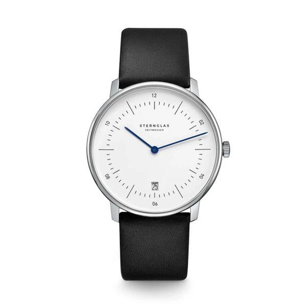 Armbanduhr Naos weiß schwarz