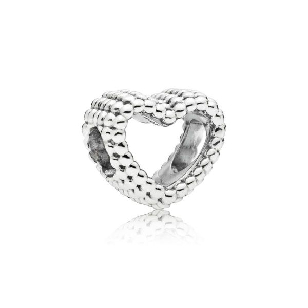 Element Beaded Heart - Metallperlen Herz
