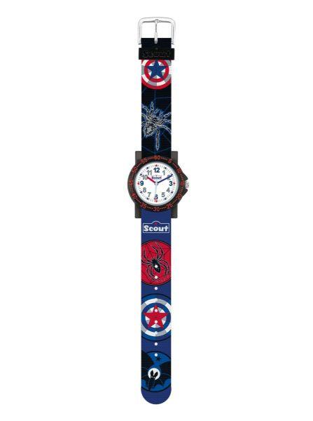Armbanduhr Fledermaus, Spinne