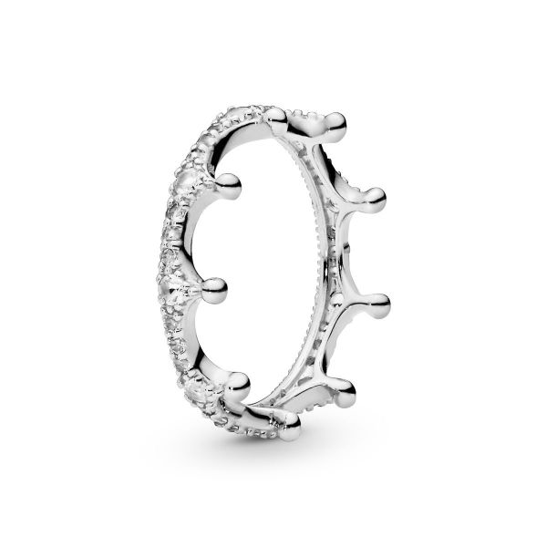 Ring Clear Sparkling Crown