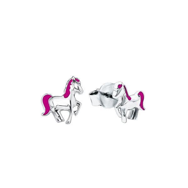 Paar Ohrstecker Pferd