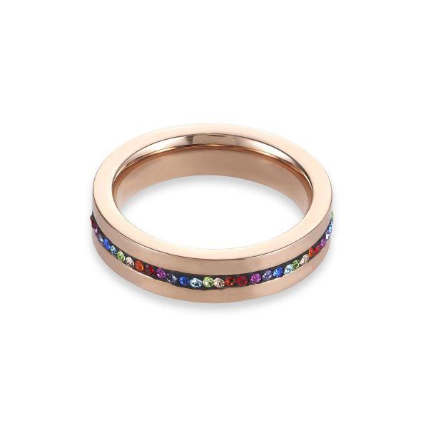 Ring roségold multicolor