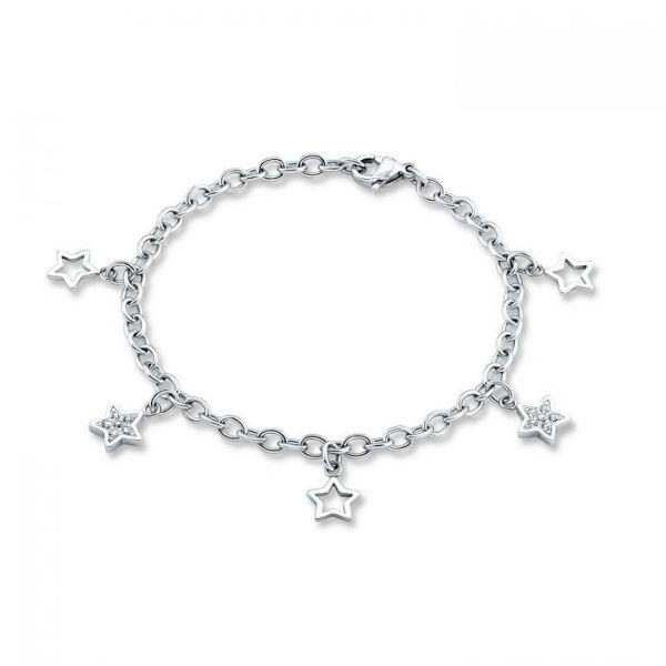 Armband Sternen Edelstahl
