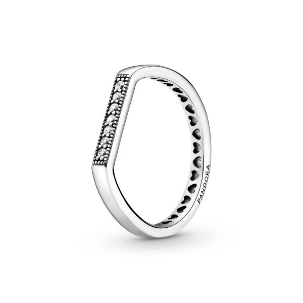Ring Funkelnd Stacking mit Logo