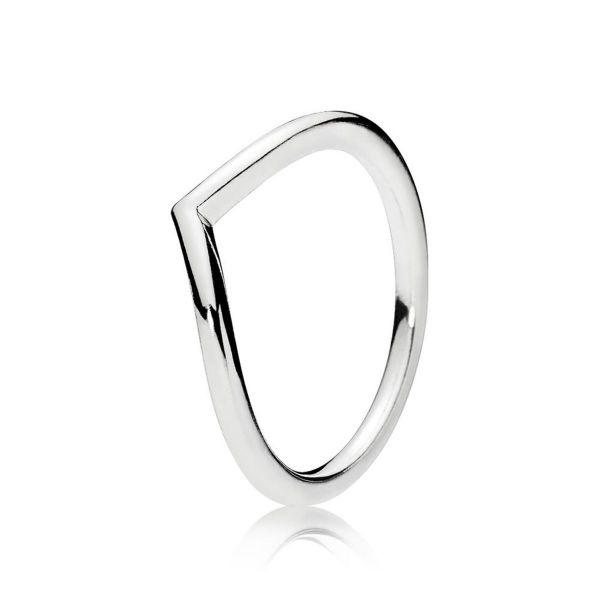 Ring Polished Wishbone
