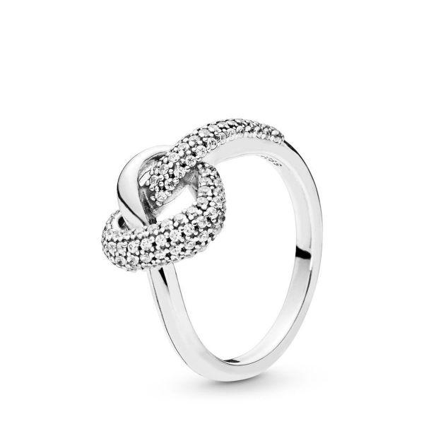 Ring Knotted Heart - Liebesknoten