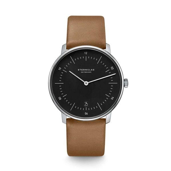 Armbanduhr Naos schwarz braun