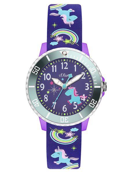 Armbanduhr Regenbögen, Sterne und Einhörner