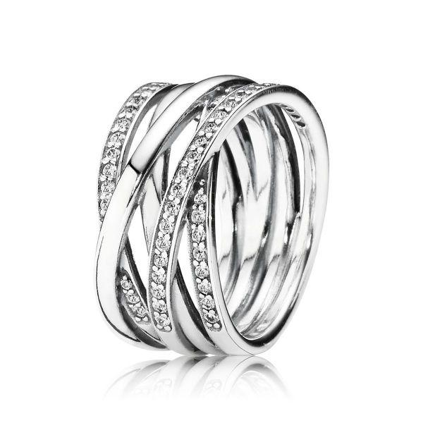 Ring Sparkling & Polished - Funkelnde Bänder