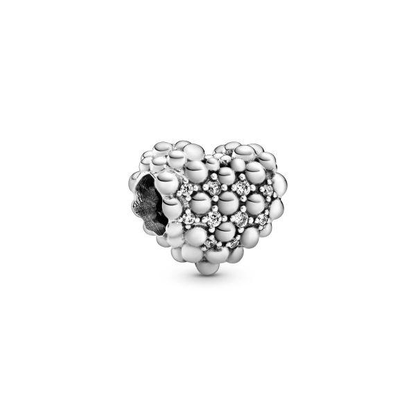 Element Funkelndes Metallperlen-Herz