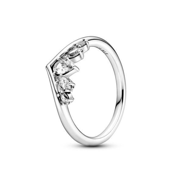 Ring Marquise-Schliff Wishbone