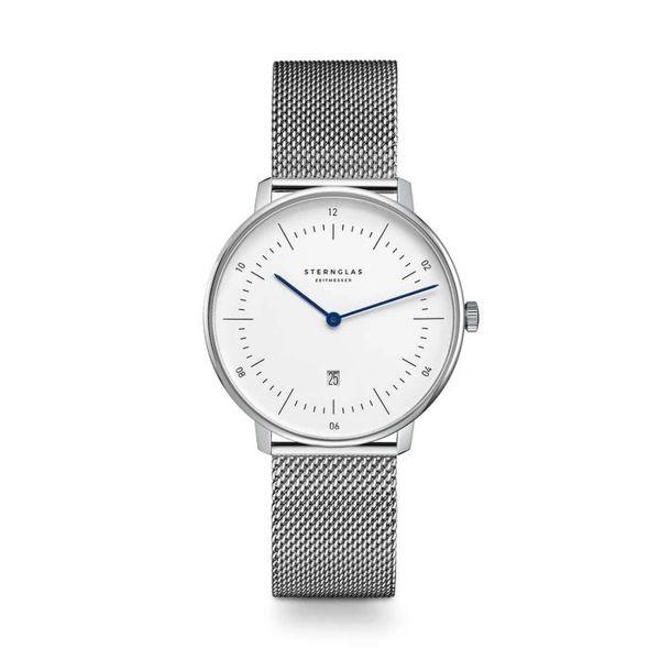 Armbanduhr Naos XS weiß silber