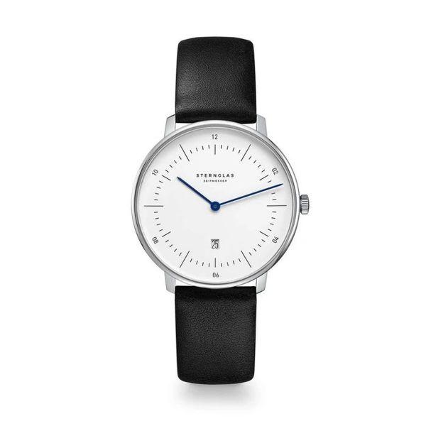 Armbanduhr Naos XS weiß schwarz