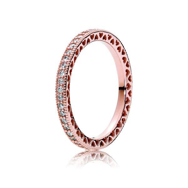 Ring Sparkle & Hearts - Unendliche Herzen