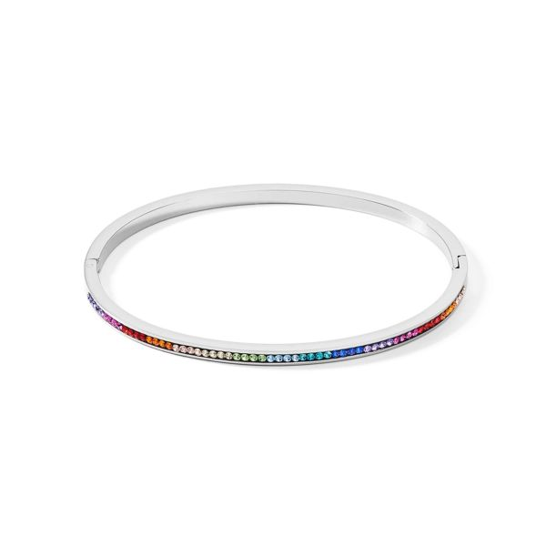 Armreif Kristalle Pavé multicolor
