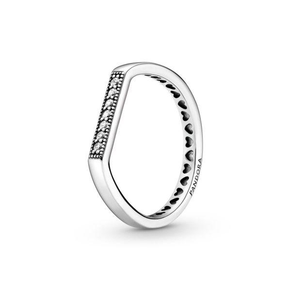 Ring Funkelnd Stacking mit Logo