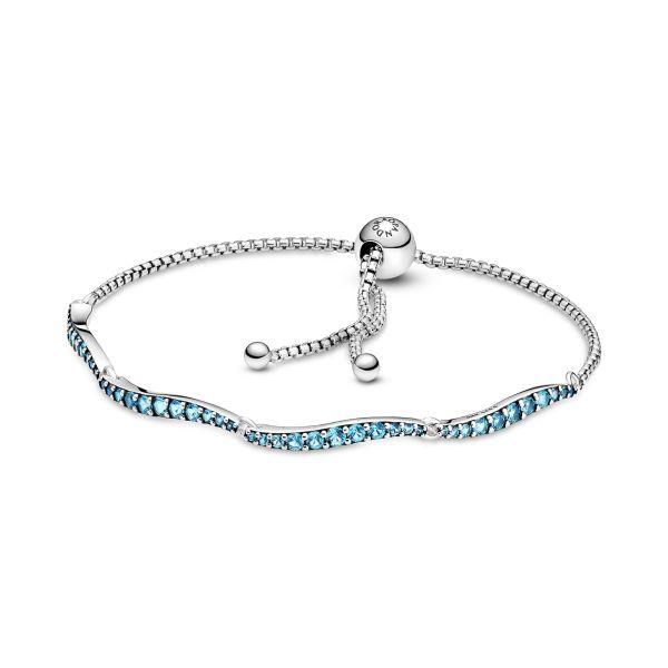 Armband Blaue Wellen