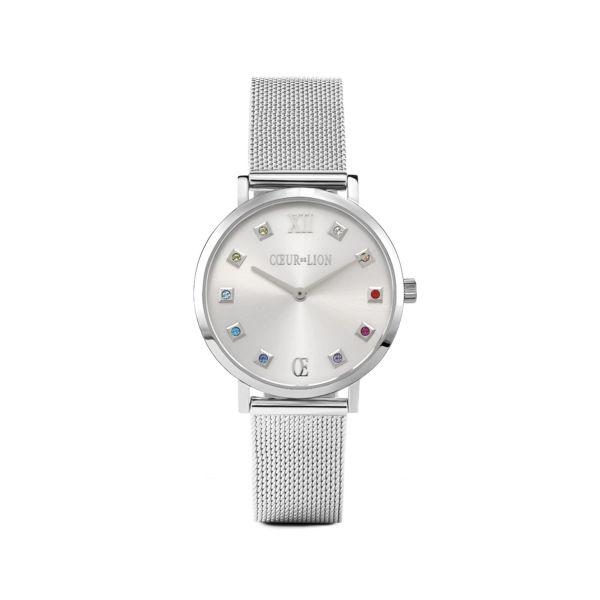 Armbanduhr Silver Sunray