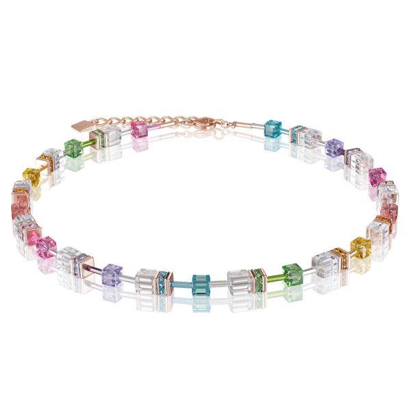 Collier multicolor-kristall