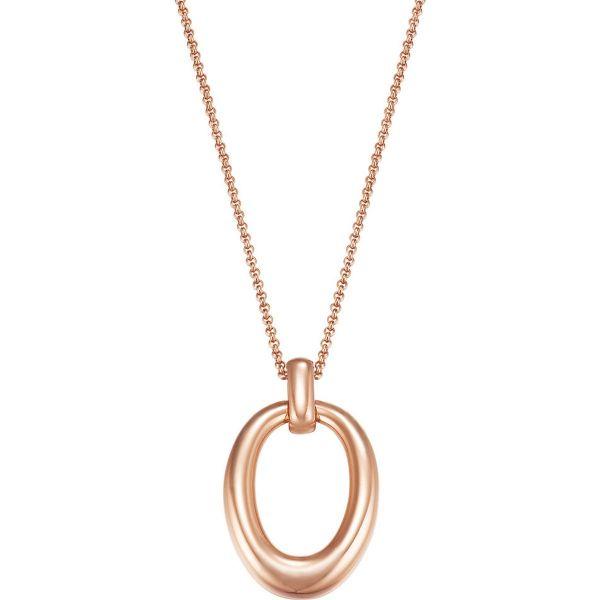 Collier Organic link rose