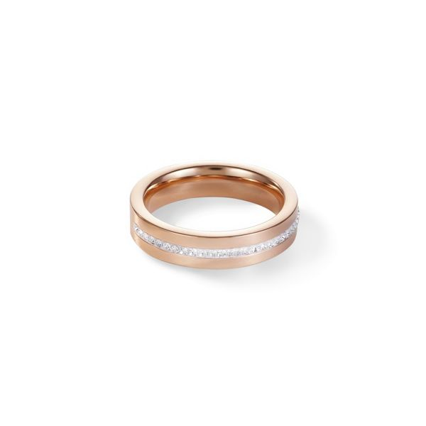 Ring roségold & Kristall Pavé kristall