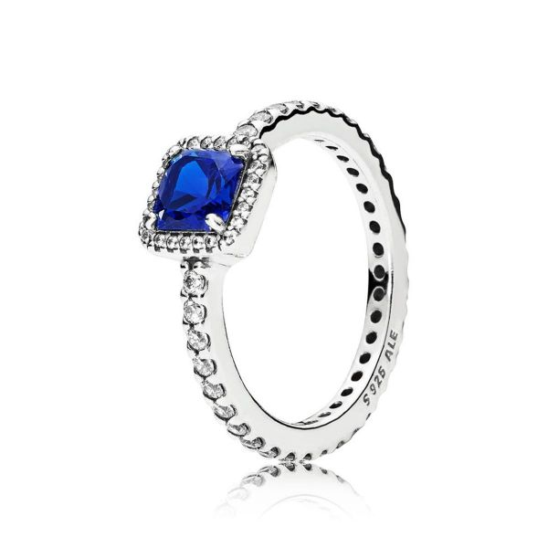 Ring Zeitlose Eleganz blau