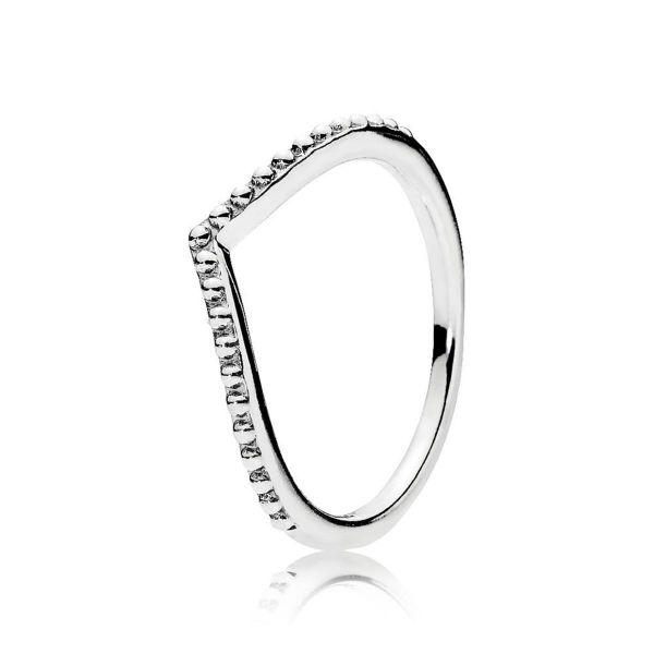 Ring Wishbone Metallperlen