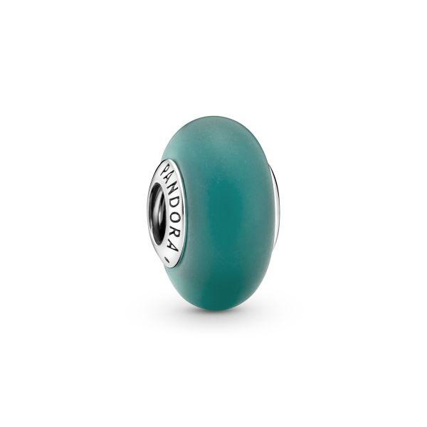 Element Mattes Grünes Murano-Glass
