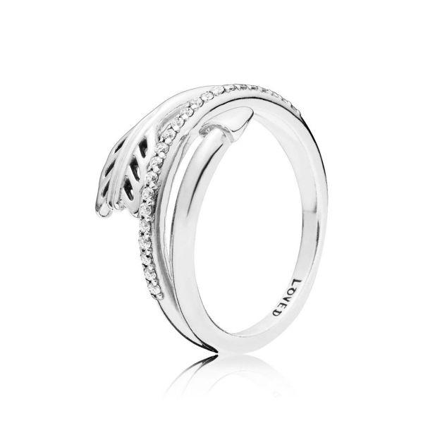 Ring Sparkling Arrow - Kreisförmiger Pfeil